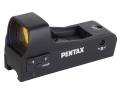 Pentax Gameseeker Reflex Red Dot Sight 5 MOA Dot with Integral Weaver-Style Base Matte