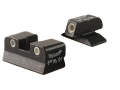 Product detail of Trijicon Night Sight Set Beretta Cougar Steel Matte 3-Dot Tritium Green Front, Orange Rear