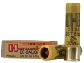 Hornady Ammunition 20 Gauge 2-3/4&quot; 250 Grain SST Sabot Slug Box of 5