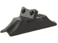 NECG Classic Rear Sight Base with Adjustable Elevation Blade for .675&quot; to .730&quot; Diameter Barrel Steel Blue