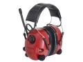 Peltor Alert AM/FM Earmuffs with Audio Jack (NRR 25dB) Red