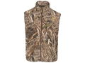 Hard Core Men's First Flight Microfleece Vest Polyester Realtree Max-5 Camo