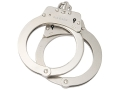 Safariland 8112 Oversized Chain Handcuffs Steel Nickel Finish