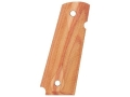Hogue Grips 1911 Government, Commander Checkered Tulipwood
