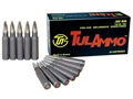 TulAmmo Ammunition 308 Winchester 150 Grain Full Metal Jacket (Bi-Metal) Steel Case Berdan Primed Box of 20