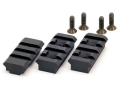 Atlas Bipod 1913 Three Rail Set BT19 Steel Black