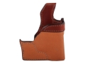 Product detail of Bianchi 152 Pocket Piece Pocket Holster Right Hand Ruger LCP, Kel-Tec P3AT, P32 Leather Brown