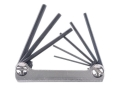 Lyman Fold-Up Hex Key Wrench Set .050&quot; to 5/32&quot;