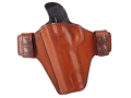Bianchi Consent Outside the Waistband Holster Left Hand 1911 Leather Tan