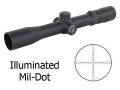 Nightforce NXS Rifle Scope 30mm Tube 2.5-10x 32mm Zero Stop Illuminated Mil-Dot Reticle Matte
