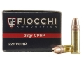 Fiocchi Shooting Dynamics Ammunition 22 Long Rifle 38 Grain Plated Lead Hollow Point Box of 500 (10 Boxes of 50)