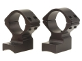 Talley Lightweight 2-Piece Scope Mounts with Integral 1&quot; Rings Winchester 70 Post-64 Matte High