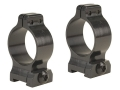 Talley 1&quot; Quick Detachable Scope Rings With Screw Lock Matte Medium
