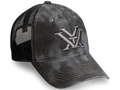 Vortex Mesh Back Logo Cap Kryptek Black Cotton and Nylon