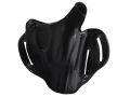 Product detail of DeSantis Thumb Break Scabbard Belt Holster Right Hand Smith &amp; Wesson J-Frame 36, 3, 60, 317, 331, 337, 360 2-1/4&quot; Leather Black