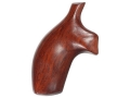 Hogue Fancy Hardwood Grips Taurus Medium and Large Frame Revolvers Square Butt Cocobolo