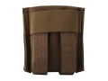 Product detail of California Competition Works Double Magazine Pouch AR-15 30 Round MOLLE Compatible Nylon Coyote Brown