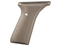 Product detail of Tactical Solutions Performance Grips Browning Buck Mark Checkered Aluminum Matte Olive Drab Green