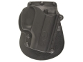Fobus Paddle Holster Right Hand Taurus PT111 32, 380, 9mm Polymer Black