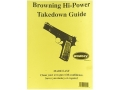 Radocy Takedown Guide &quot;Browning Hi-Power&quot;