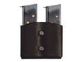 BLACKHAWK! Double Magazine Pouch Single Stack Leather