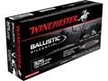 Winchester Supreme Ammunition 325 Winchester Short Magnum (WSM) 180 Grain Ballistic Silvertip