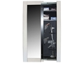 Willa-Hide Hidden Reflections Full-Length Mirror Security Cabinet White
