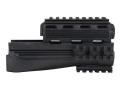 Advanced Technology Strikeforce Modular Handguard with Removable Picatinny Rails AK-47, AK-74 Polymer