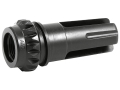 "Advanced Armament Co (AAC) Blackout Flash Hider 18-Tooth Spring Suppressor Mount 5.56mm AR-15 1/2""-28 Thread Steel Matte"