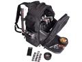 G Outdoors Executive Backpack Range Bag Nylon Black