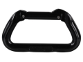 Omega Pacific Anodized Aluminum Standard D Carabiner Straight Gate Black