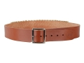 "Hunter Cartridge Belt 2"" 45 Caliber 25 Loops Leather Brown Medium"
