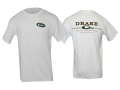 Drake Men's Logo T-Shirt Short Sleeve Cotton White 2XL