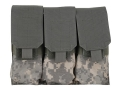 BlackHawk S.T.R.I.K.E. Speed Clip M4/M16 Triple Magazine Pouch Holds 6 AR-15 30 Round Magazines Nylon ACU Camo