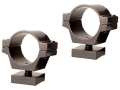 "Williams Q.C. (Quick Convertible) Special High 1"" Split Rings Matte Package of 2"