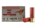 Product detail of Winchester Super-X Super Pheasant Ammunition 12 Gauge 3&quot; 1-1/4 oz #4 Steel Shot Box of 25