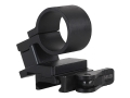 American Defense AD-SM-02 Magnifier Swing Mount with Quick-Release Picatinny-Style Mount Matte