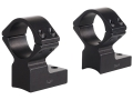 "Talley Lightweight 2-Piece Scope Mounts with Integral 1"" Rings Extended Front Weatherby Magnum Matte Extra-High"