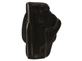 Opened Package Holsters Paddle Holster Left Hand 1911 Commander Leather Black