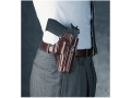 Galco Concealed Carry Paddle Holster Right Hand 1911 Commander Leather Brown