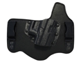Galco KingTuk Tuckable Inside the Waistband Holster Right Hand Glock 42 Leather and Kydex Black