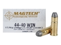 Product detail of Magtech Cowboy Action Ammunition 44-40 WCF 200 Grain Lead Flat Nose Box of 50