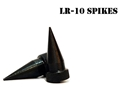Accu-Tac Spike Feet Set fits LR-10 Bipods Steel Black