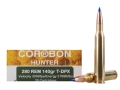 Cor-Bon DPX Hunter Ammunition 280 Remington 140 Grain Barnes Triple-Shock X Bullet Hollow Point Lead-Free Box of 20