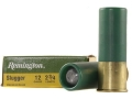 "Remington Slugger Ammunition 12 Gauge 2-3/4"" 1 oz Rifled Slug"