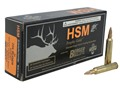 HSM Trophy Gold Ammunition 204 Ruger 40 Grain Berger Varmint Hollow Point Boat Tail Box of 20