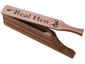 Woodhaven The Real Hen Walnut Box Turkey Call