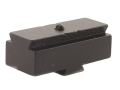 Product detail of Williams Target Globe Front Sight Attaching Base Dovetail (High) .465&quot; Height Steel Blue