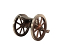 "Traditions Mini Napoleon III Black Powder Cannon 50 Caliber 7.25"" Nickel Plated Barrel Hardwood Carriage"