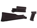 Product detail of Arsenal, Inc. Complete Buttstock and Handguard Set Warsaw Pact Length AK-47, AK-74 Stamped Receivers Polymer Plum